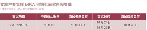 全国顶尖高校首个文旅MBA火热报名中,10月8日截止